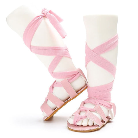 Image of Tie Up Sandals