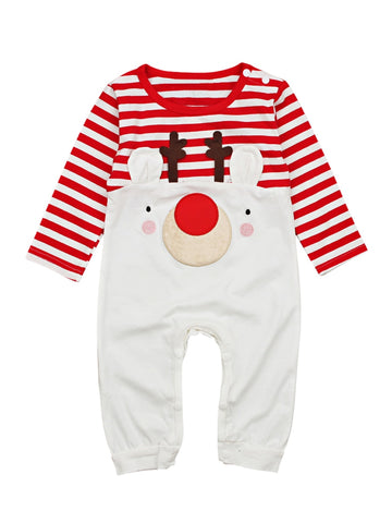 Image of Red Nose Jumpsuit
