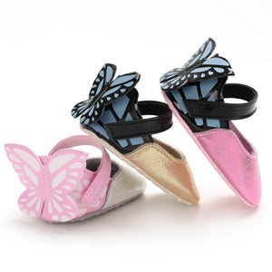 Baby Girl Butterfly Shoes