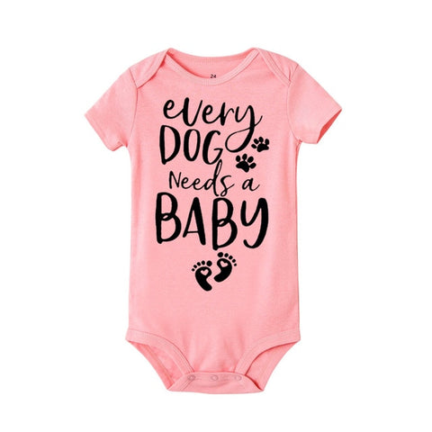 Image of Every Dog Needs A Baby Romper