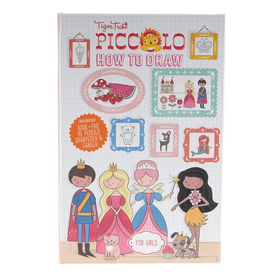 Tiger Tribe Colouring Set How To Draw Fairytales