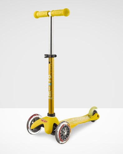 Mini Micro Deluxe scooter yellow