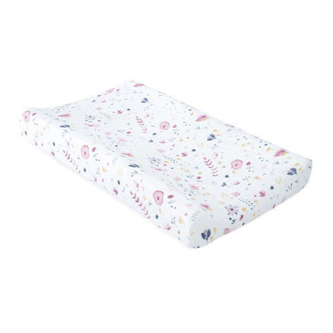 Little Unicorn Muslin Changing Pad Cover Fairy Garden
