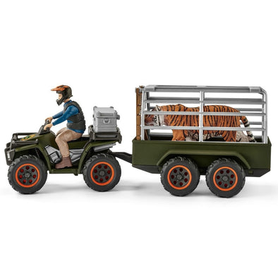 Schleich Quad Bike with Trailer