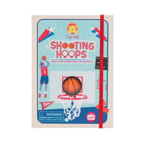 Tiger Tribe Shooting Hoops activity set