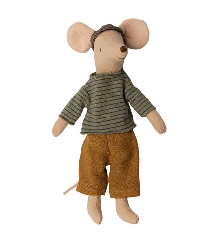 Maileg Dad Mouse measures 15cm