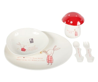 Maileg Bunny Honey 6 pce melamine set