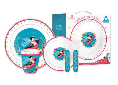 Ashdene Enchanted Fairies 5 piece Dinner Set