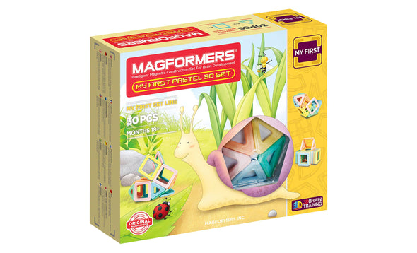 Magformers My First 30 Pastel Set