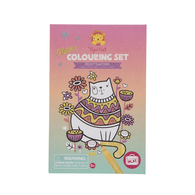 Tiger tribe Colouring Set Night Garden