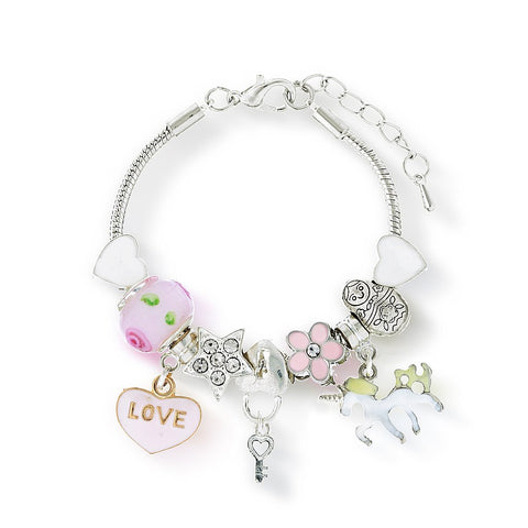 Lauren Hinkley Unicorn Charm bracelet (new)