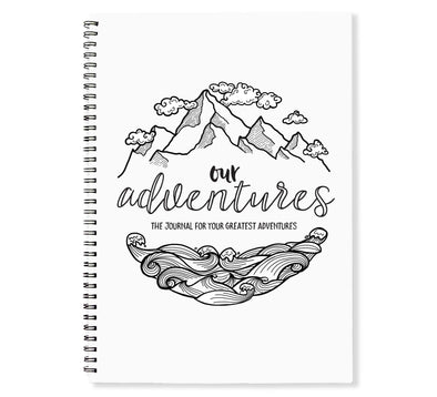 "Monochrome ""Our Adventures"" book"