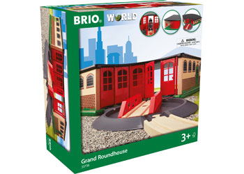 Brio Grand Roundhouse train garage