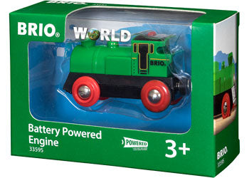 Brio Green Battery Powered engine