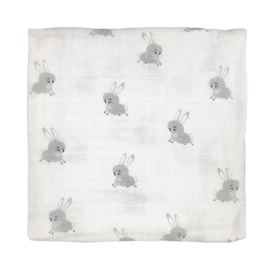 Mister Fly Floating Bunny Muslin Wrap