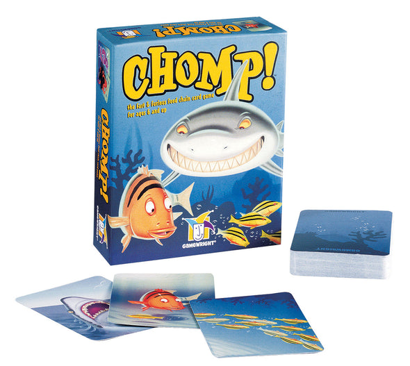 Gamewright card game Chomp