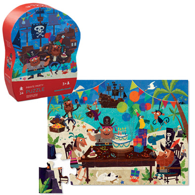 Crocodile Creek Mini Puzzle Pirate Party
