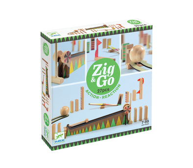 Djeco Zig & Go Construction Set 27 pieces