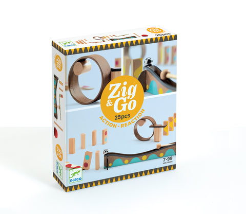 Djeco Zig and Go 25 piece set