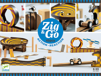 Djeco Zig and Go 45 piece set