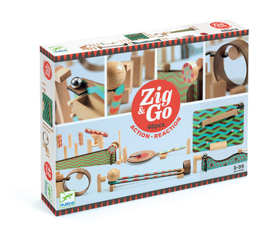 Djeco Zig & Go Construction Set 48 pieces