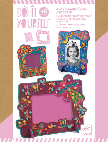 Djeco DIY Fairy Frames craft kit for girls 5 years and up