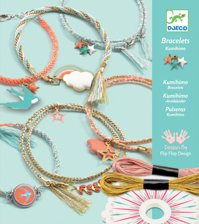 Djeco Celeste Bracelet weaving kit