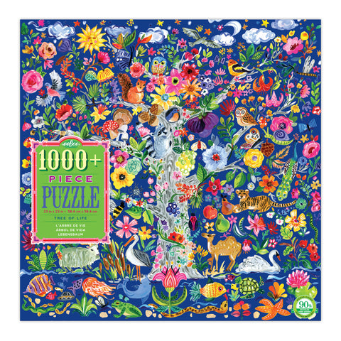 Eeboo 1008 piece puzzle Tree of Life box