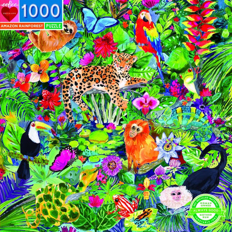 Amazon Rainforest Puzzle 1000 pieces
