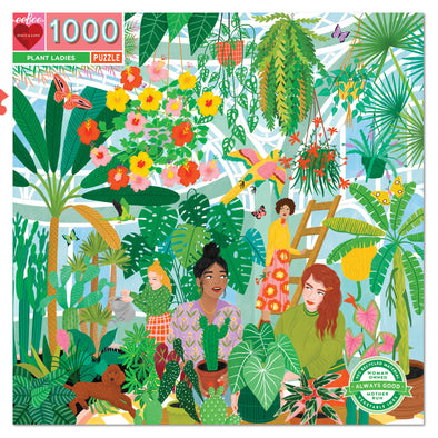 Eeboo Plant Ladies 1000 piece jigsaw puzzle