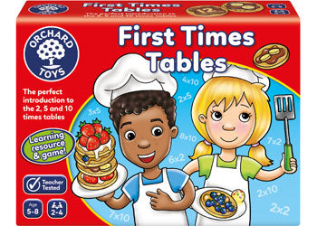 First Times Tables game by Orchard Games suitable for 5-8 years