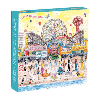 Summer at the Amusement Park 500 piece puzzle by galison Puzzles