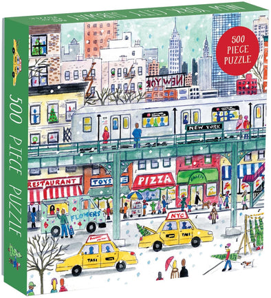 Galison 500 piece puzzle New York City Subway