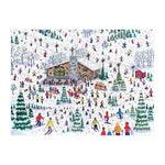 Apres Ski 1000 piece puzzle illustrated by Michael Storrings