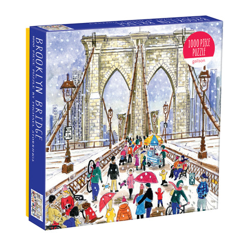 Brooklyn Bridge 1000 piece puzzle by Galison