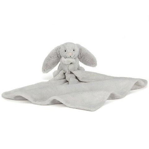 Jellycat Bashful Bunny Soother Silver