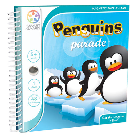 SmartGames Penguin Parade Magnetic Book