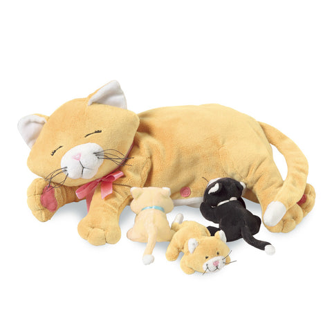 Manhattan toys Nursing Nina Cat