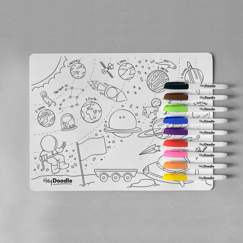 Outer Space silicone placemat