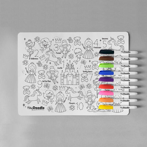 Hey Doodle Sugar and Spice Silicone placemat