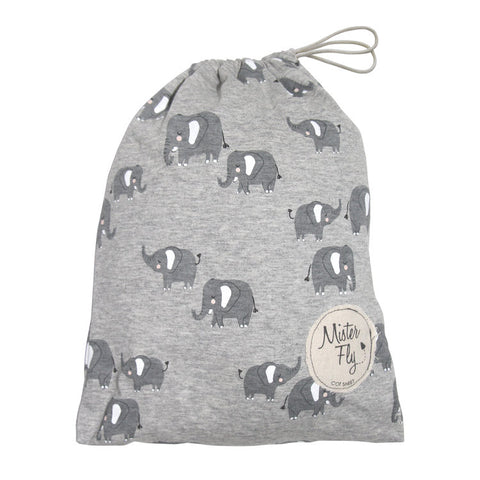 Mister Fly Elephant Cot Sheet