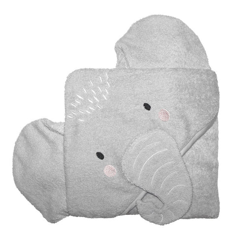 Mister Fly Elephant Hooded Towel