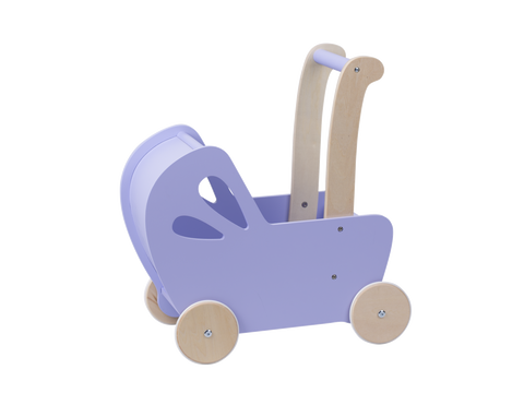 Moover LINE Doll's pram purple