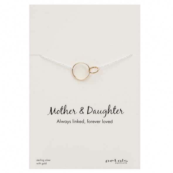 Petals Australia Mother and Daughter necklace RG