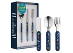 Ocean Explorer 3 piece cutlery set by Ashdene