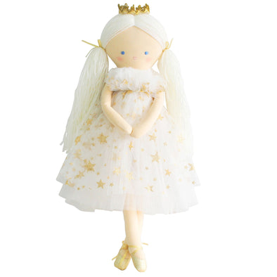 Alimrose Penelope Princess doll gold star tulle
