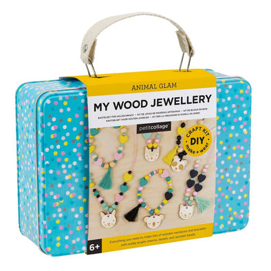 Petit Collage DIY Wooden Jewellery kit