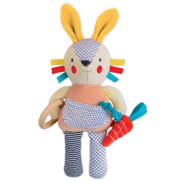 Petit Collage Activity Bunny Toy for babies