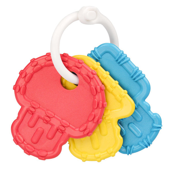 Re-Play Teething Keys red, blue and yellow