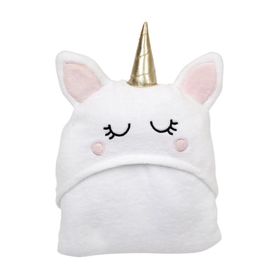Sunnylife Hooded Bath towel Unicorn packaged